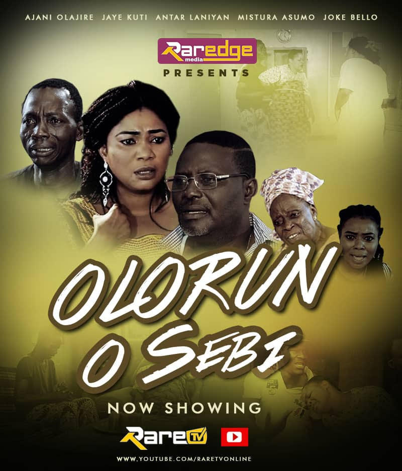 "NOLLYWOOD: Watch Jaye Kuti 's New Movie - ""OLORUN O SEBI"""